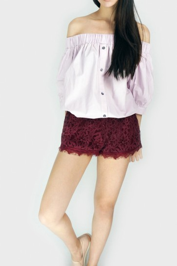 Orchard Lace Shorts
