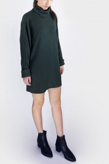 Kylie Slouchy Turtleneck Sweater