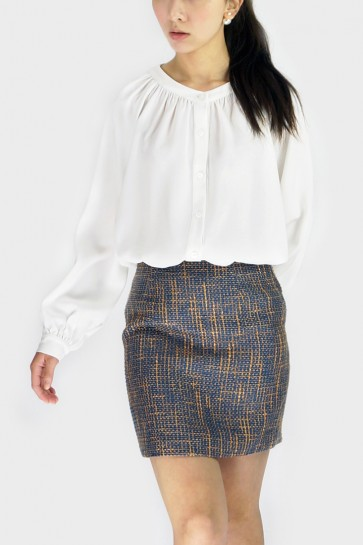 Phoebe Pleated Shirt