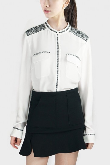Embroidered Classic Shirt