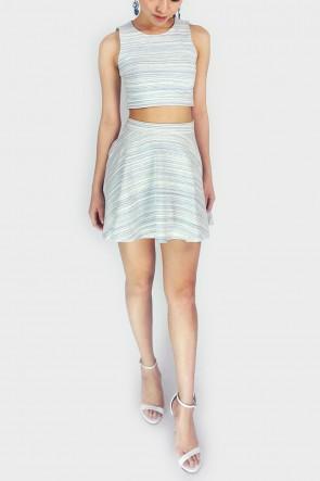 Sunday Morning Knitted Skater Skirt