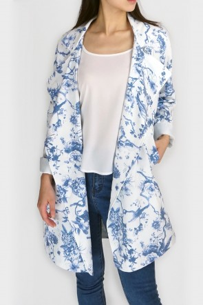 Louise Watercolour Floral Drape Mac