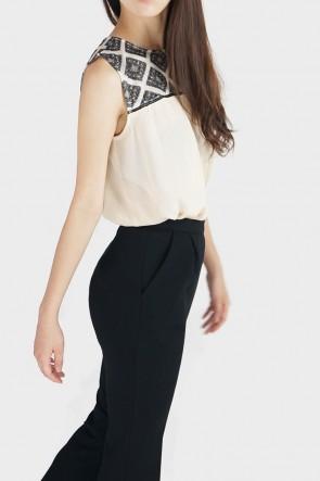 Marina Classic High Waist Flared Trousers