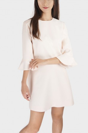 Cailyn Flare Sleeved Fit & Flare Dress