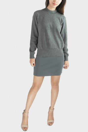 Jeanne Cut Out Back Sweater