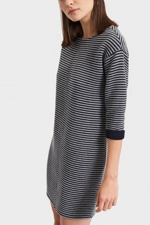 Jesca Striped Shift Dress